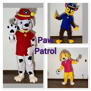 Out of Stock Paw Patrol Costumes Chase  Skye